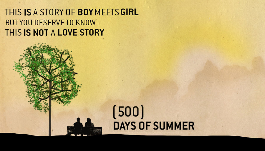 500 Quotes About Love : 500_days_of_summer_romcom_poster_by_churchx-d4pesd4